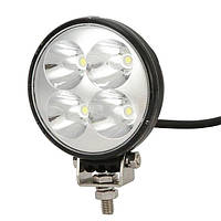 12W LED Рабочий свет Круглый мини-внедорожник Вагон грузовик Вождение туман Лампа