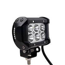 4 дюйма 18w LED рабочий свет бар лампа для автомобиля грузовик внедорожного, фото 3