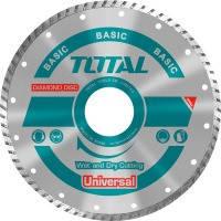 Акс.инстр TOTAL TAC2132303 Алмазный диск Turbo универс 230х22.2мм.