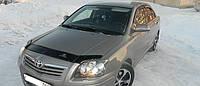 Мухобойка на капот Toyota Avensis c 2003-2008