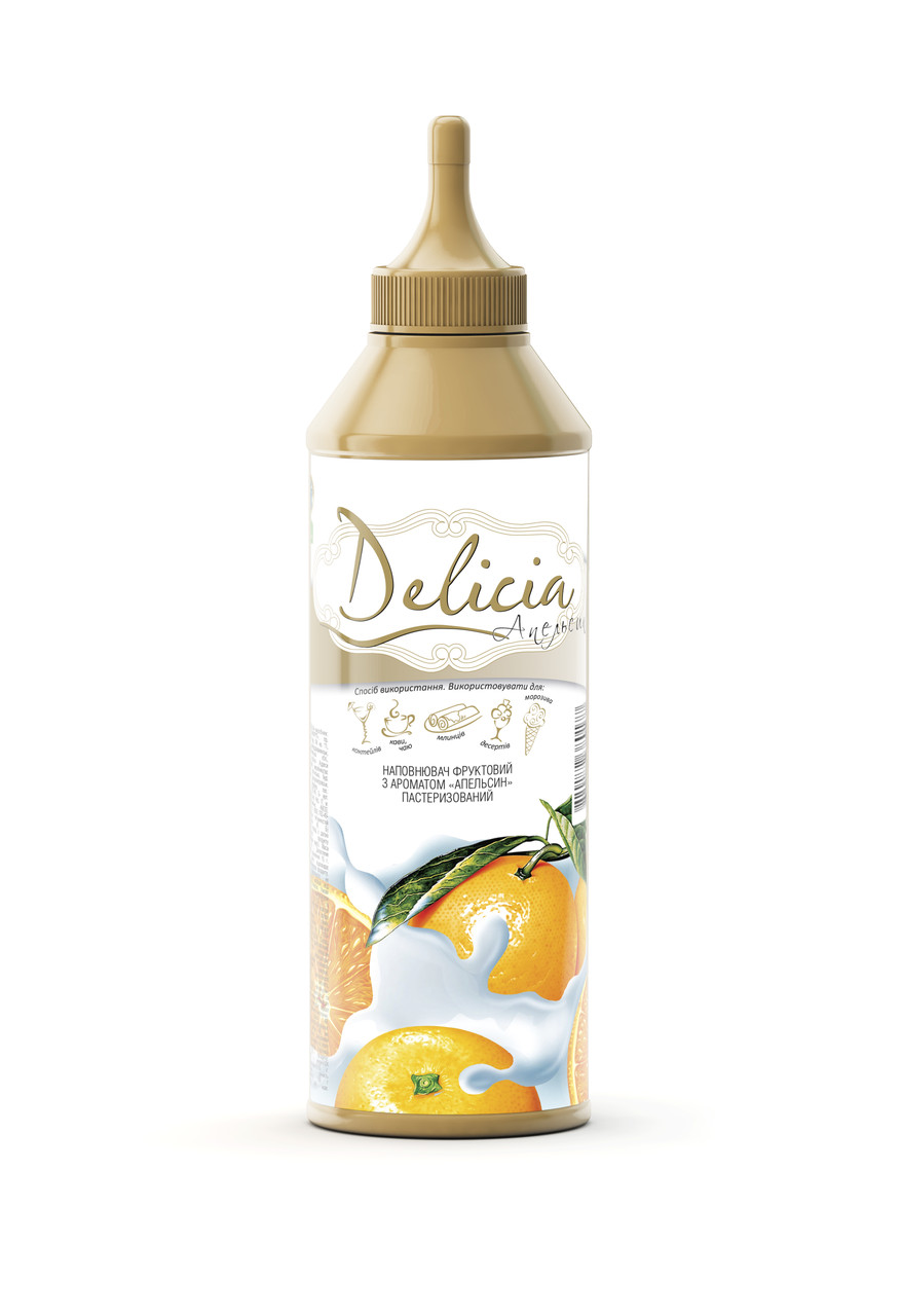 "Топпинг Апельсин ""Delicia"" 600 г"