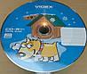 CD-R Videx 80 52x ( 50 шт ) новогодние год собаки