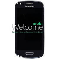 Дисплей Samsung I8190 Galaxy S3 mini blue with touchscreen orig (rev 5.1)