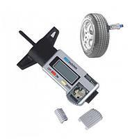 Цифровой манометр резина Глубина протектора глубиномер Инструмент измерительный