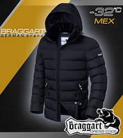 Модная куртка мужская с мехом
