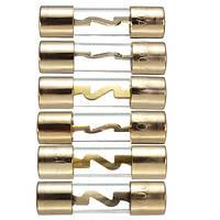 АГУ золота стеклянный предохранитель 20А 30А 40А 50А 60А 80amp текущей звуковой системы