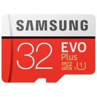 Карта памяти SAMSUNG microSDHC 32GB EVO PLUS UHS-I (R95 W20MB/s)