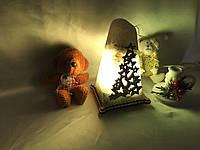 """Соляная лампа """"Елка звезда"""""""