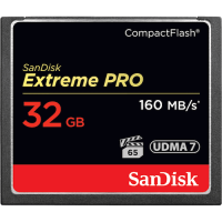 Карта памяти SANDISK CompactFlash 32 Gb Extreme  Pro (R160 W150MB/s)