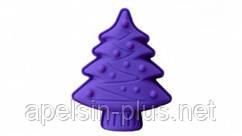 Силиконовая форма для выпечки и десертов Елочка с игрушками 18,5 см