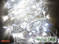 Гирлянда LED белая 100 лампочек, фото 1