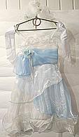 Карнавальное платье Снежинка,Зима,Снежная королева,принцесса 3 в 1