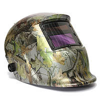 Регулируемые Автоматическое затемнение солнечного шлем сварки маска камуфляж лес