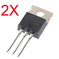 2шт irfz44n транзистор N-канальный международный выпрямитель тока MOSFET силы