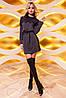 Женское ангоровое платье-туника с кружевом (Эрика jd), фото 4