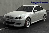 НАКЛАДКИ НА ПОРОГИ BMW E60 DUBAI