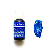 Гелевый краситель Chefmaster Liqua-Gel Royal Blue/Королевский синий