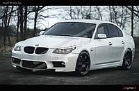 НАКЛАДКИ НА ПОРОГИ BMW E60 В СТИЛЕ F10, фото 1