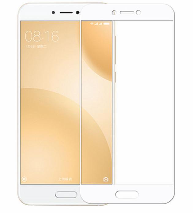 Защитное стекло 3D для Xiaomi Mi5c (White)