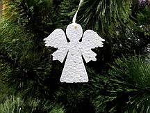 Ангелочек, 15 см, елочная игрушка из пенопласта