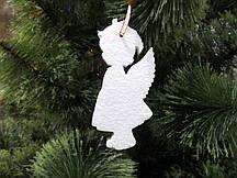 Ангелочек Девочка, 15 см, елочная игрушка из пенопласта