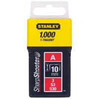Скобы Stanley Light Duty тип А 10мм 1000шт
