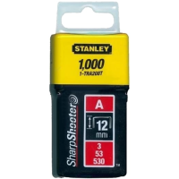 Скобы Stanley  Light Duty тип А 12мм 1000шт