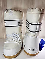 Луноходы белые Moon Boot (white)