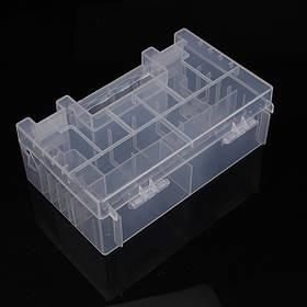 Полупрозрачный жесткий пластиковый корпус держатель для хранения ящик для аккумуляторов АА ААА батареи C 1TopShop