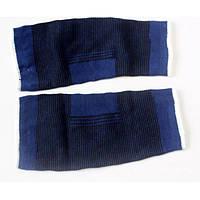 Упругие колено поддержки brace коврик спортивный протектор 2шт синий