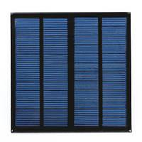 Поделки 3вт 12В 0-250ма 145x145x2.5мм панель солнечных батарей поликристаллического кремния солнечных элементов