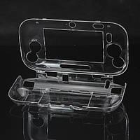 Защитные кристалл Твердый переплет чехол для Wii U геймпад прозрачный
