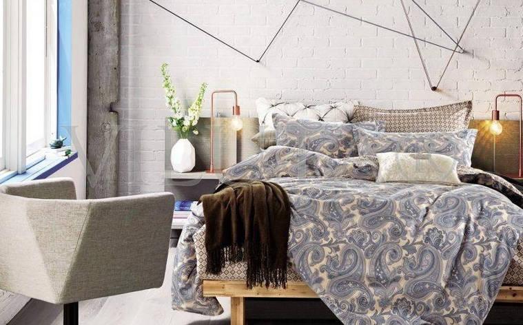 Двуспальное постельное бельё 175*210 сатин (103) TM Viluta, фото 2