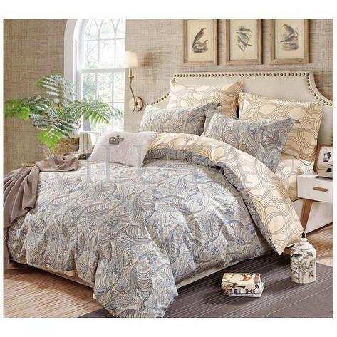 Двуспальное постельное бельё 175*210 сатин (106) TM Viluta, фото 2
