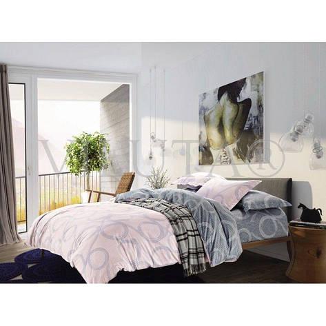 Двуспальное постельное бельё 175*210 сатин (109) TM Viluta, фото 2