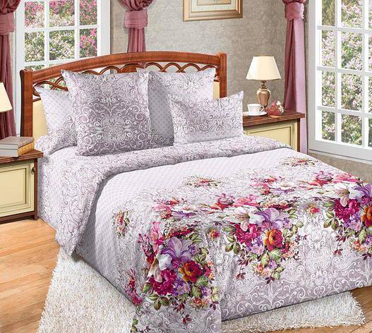 Двуспальный комплект постельного белья (перкаль) Арфа, фото 2