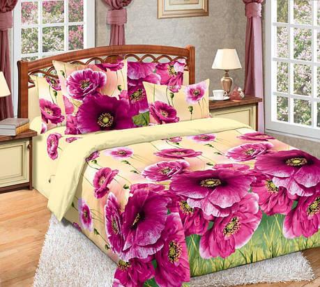 Двуспальный комплект постельного белья (перкаль) Кармен, фото 2
