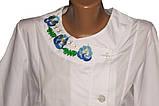 Медицинский халат р 40 вышивка., фото 3
