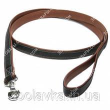 CoLLar SOFT Шкіряний ремінець для собак без прикрас (чорний)