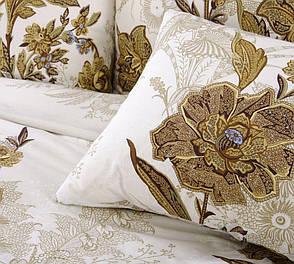 Двуспальный комплект постельного белья (перкаль) Музей беж, фото 2
