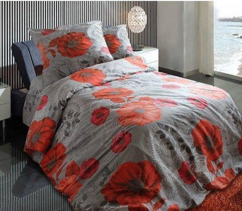 Двуспальный комплект постельного белья Маки, фото 2