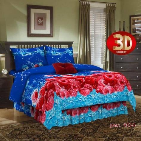 Двуспальный комплект постельного белья Малина, фото 2