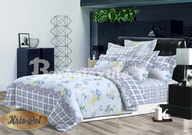 Комплект постільної білизни двохспальний 180*220 ранфорс (бавовна) TM KRISPOL Україна 52181697, фото 2