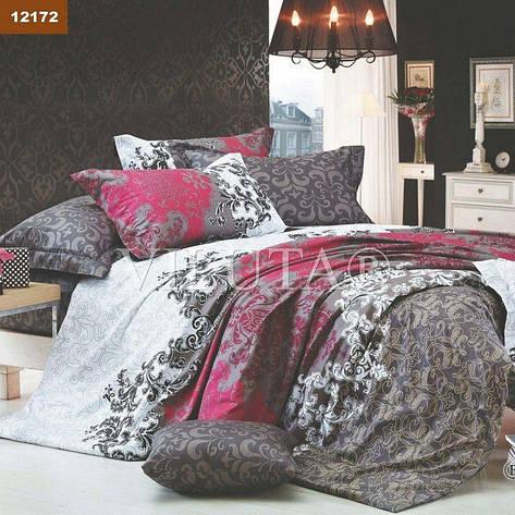 Комплект постельного белья двуспальный 175*210 ранфорс TM Viluta (12172), фото 2