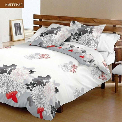 Комплект постельного белья двуспальный 175*210 ранфорс TM Viluta (7235), фото 2
