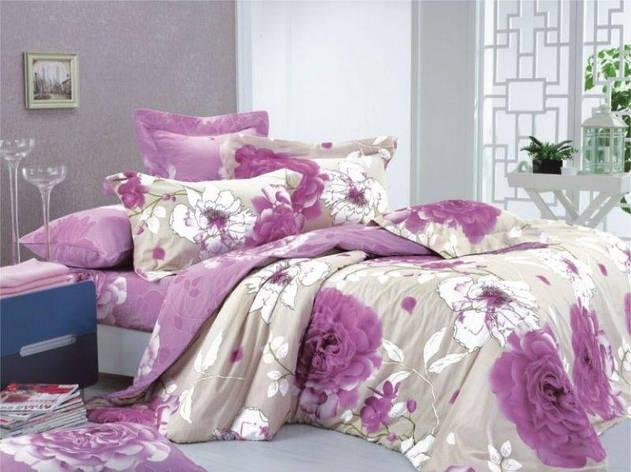 Комплект постельного белья двуспальный 175*210 ранфорс TM Viluta (8627), фото 2