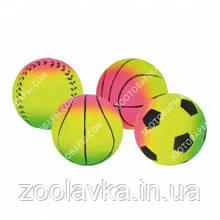 Игрушка для собак Trixie 34581 Мяч пористый (7 см)
