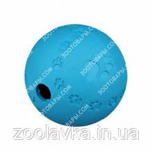 Іграшка для собак Trixie Snack Ball каучуковий М'яч з лабіринтом для ласощі 7 см