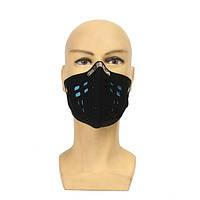Два слоя охранник лице маску холодного ветра доказательство наружных масок мотоцикл