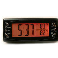 LCD цифровой автомобиль часы термометр гигрометр температуры автоматический